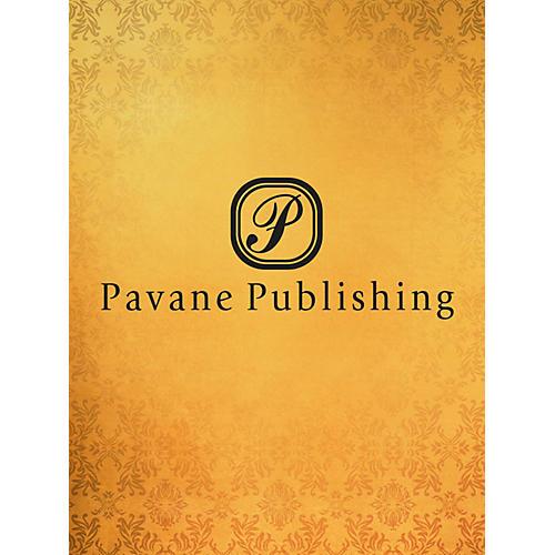 Pavane Hosanna in the Highest SATB Arranged by Allan Robert Petker
