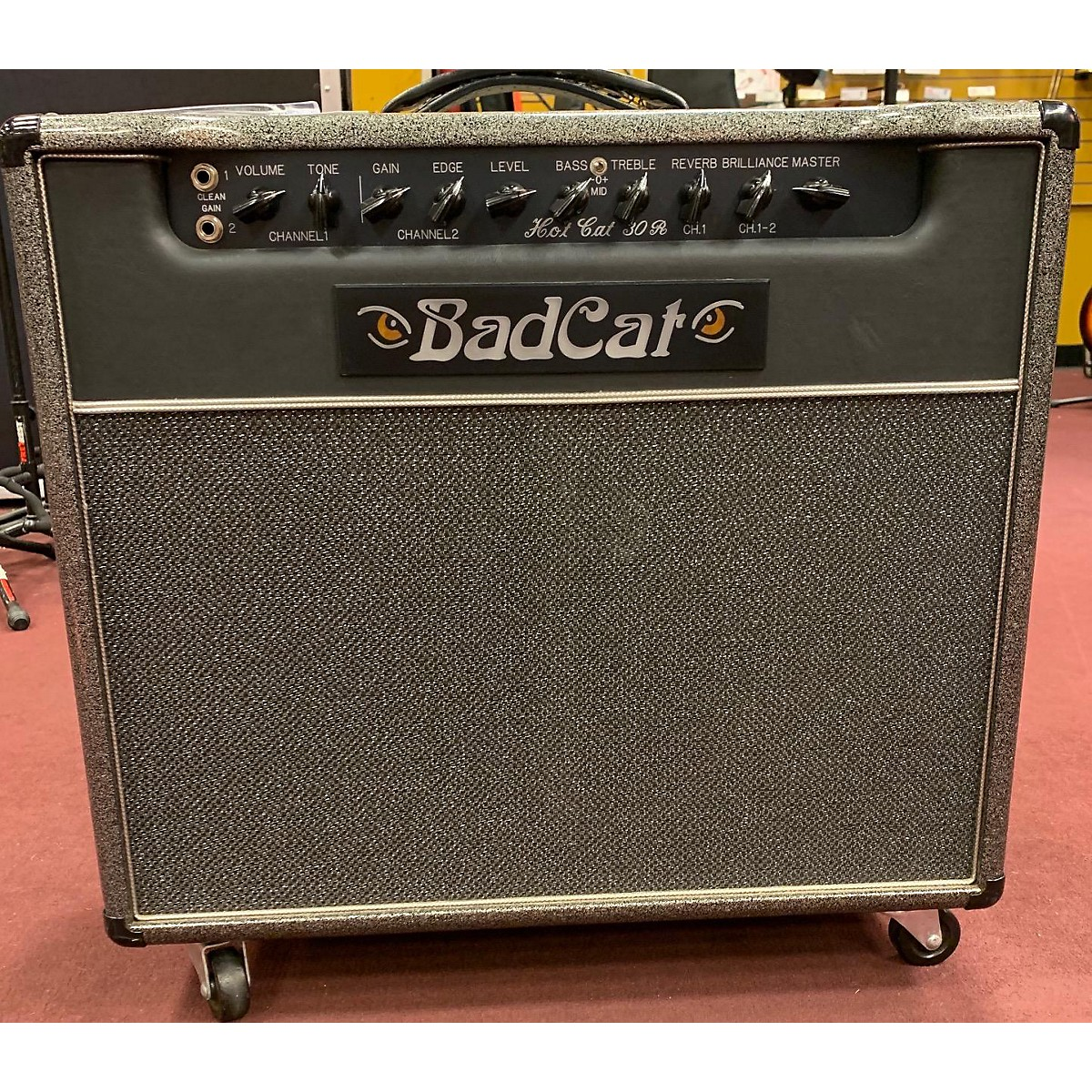 Bad Cat Hot Cat 30R 1x12 Tube Guitar Combo Amp