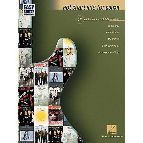 Hal Leonard Hot Chart Hits for Easy Guitar Book