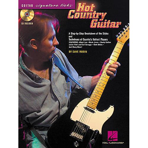 Hal Leonard Hot Country Guitar (Book/CD)