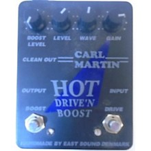Carl Martin Hot Drive 'N Boost Effect Pedal