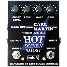 Carl Martin Hot Drive 'N Boost mk 3 Pedal Level 1