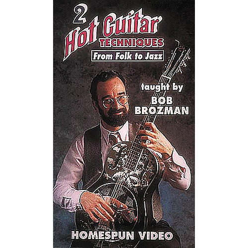 Homespun Hot Guitar Techniques 2 (VHS)