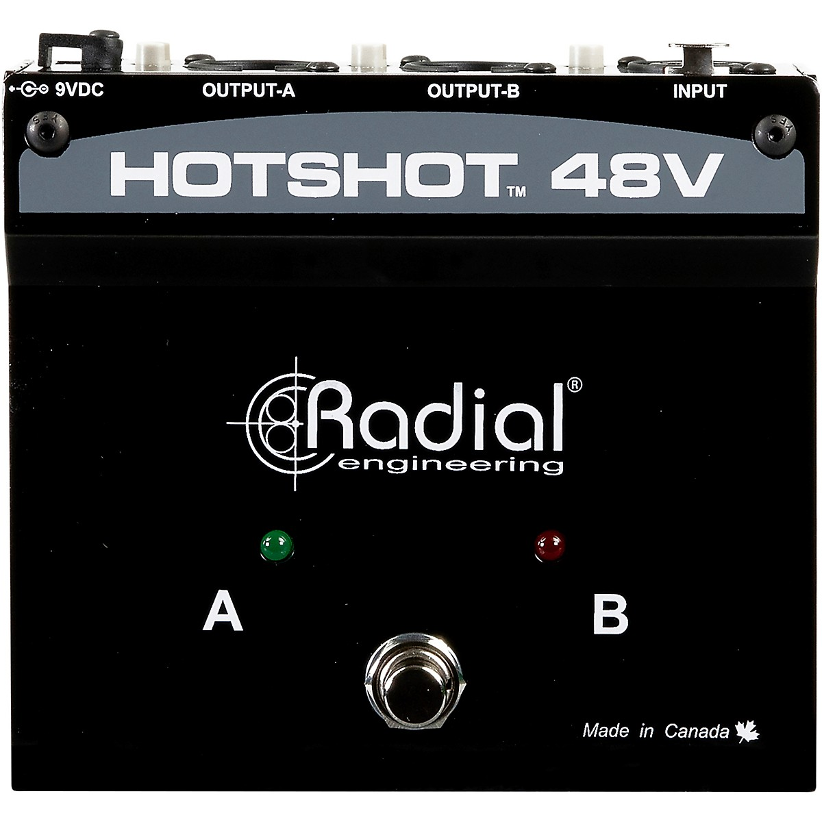Radial Engineering HotShot 48V Condenser Microphone Switcher