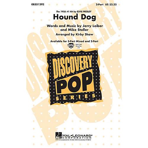 Hal Leonard Hound Dog 3-Part Mixed by Elvis Presley Arranged by Kirby Shaw