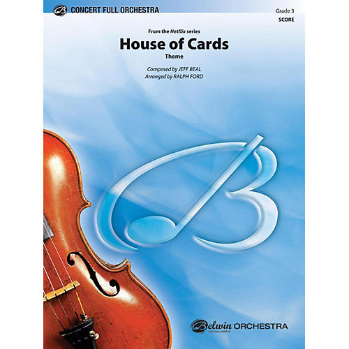 Alfred House of Cards (Theme) Full Orchestra Grade 3