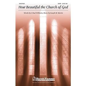 Shawnee Press How Beautiful the Church of God SATB composed by Joseph M. Ma... by Shawnee Press