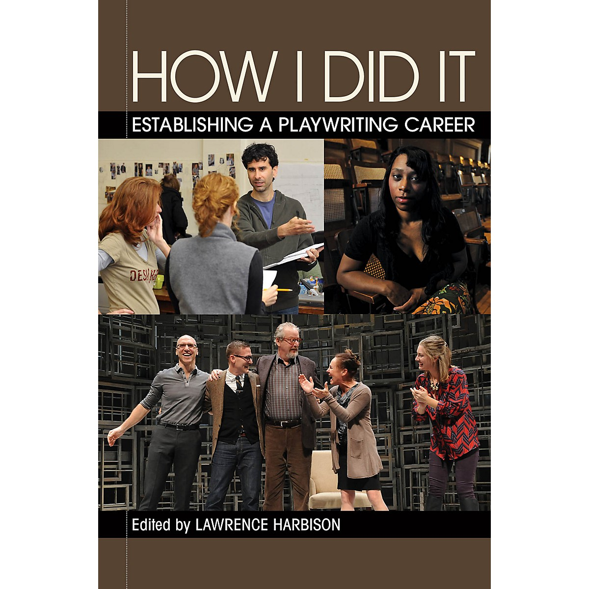 Applause Books How I Did It Applause Acting Series Series Softcover Written by Lawrence Harbison