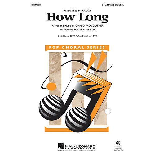 Hal Leonard How Long 3-Part Mixed arranged by Roger Emerson