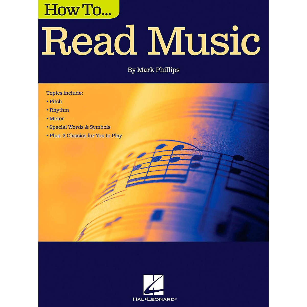 Hal Leonard How To Read Music Book