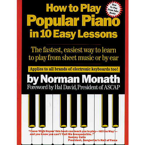 Alfred How to Play Popular Piano