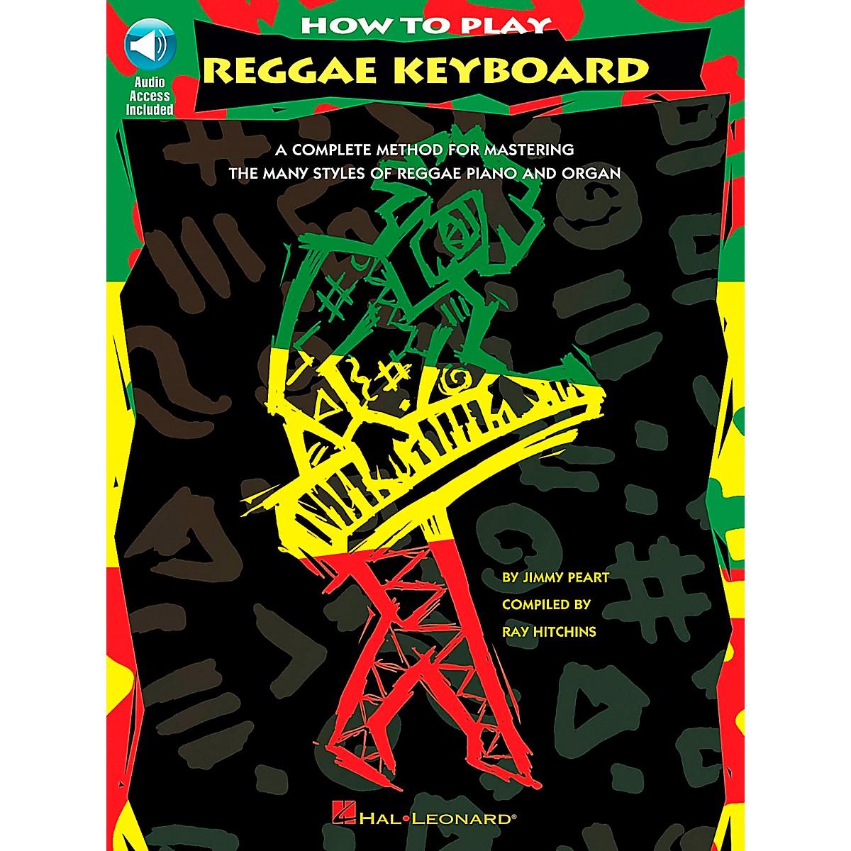Hal Leonard How to Play Reggae Keyboard Book/CD