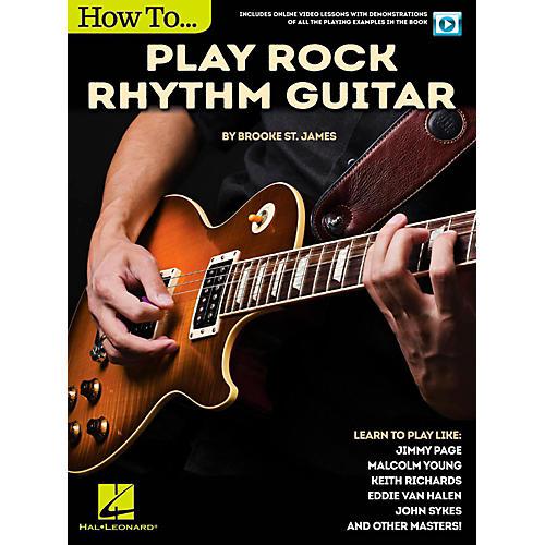 Hal Leonard How to Play Rock Rhythm Guitar - Book/Video Online