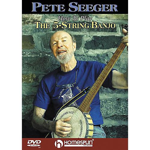 Homespun How to Play the 5-String Banjo (DVD)