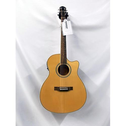 used crafter guitars htc 100seq acoustic electric guitar natural guitar center. Black Bedroom Furniture Sets. Home Design Ideas