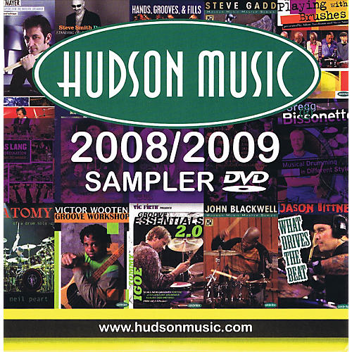 Hudson Music Hudson DVD Sampler (The Finest Multimedia for Musicians) Instructional/Drum/DVD Series DVD by Various