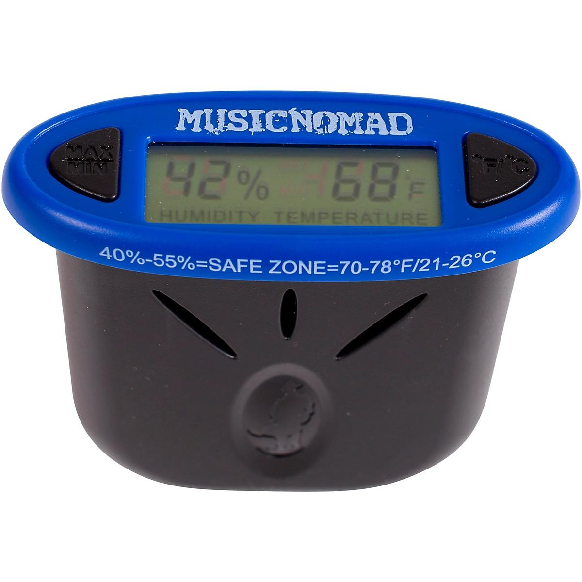 MusicNomad HumiReader - Humidity & Temperature Monitor 3 in 1