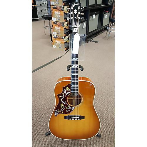 used gibson hummingbird left handed acoustic electric guitar guitar center. Black Bedroom Furniture Sets. Home Design Ideas