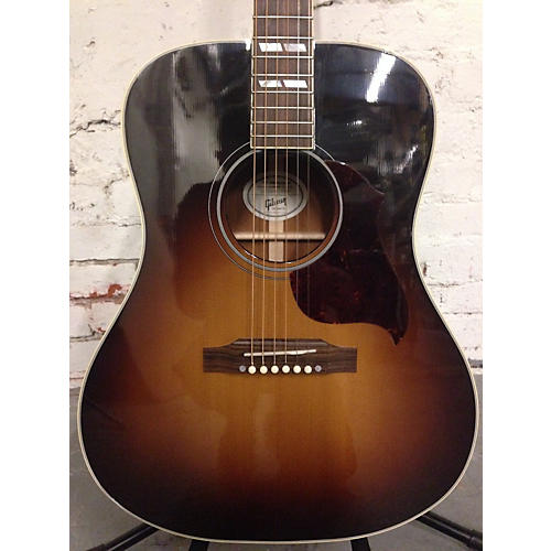 Gibson Hummingbird Pro Repaired Headstock Acoustic Guitar