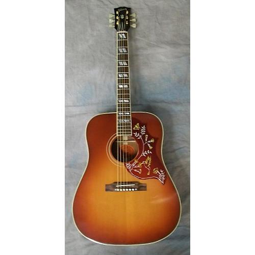 used gibson hummingbird true vintage cherry sunburst acoustic guitar guitar center. Black Bedroom Furniture Sets. Home Design Ideas
