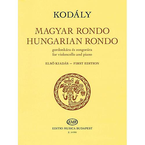 Editio Musica Budapest Hungarian Rondo (for Cello and Piano) EMB Series Softcover