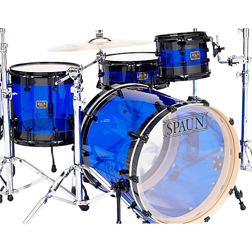 Spaun Hybrid 3-Piece Shell Pack with Black Hardware