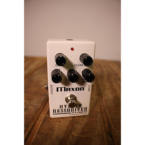 Maxon Hybrid Bassdriver Effect Pedal