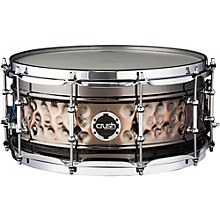 Crush Drums & Percussion Hybrid Hand Hammered Steel Snare Drum
