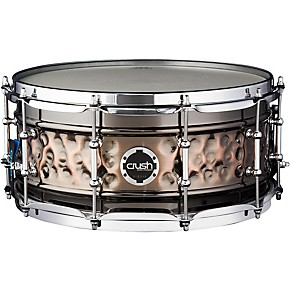 crush drums percussion hybrid hand hammered steel snare drum guitar center. Black Bedroom Furniture Sets. Home Design Ideas