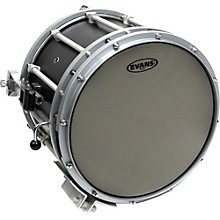 Evans Hybrid Marching Snare Drum Batter Head Level 1 Gray 14 in.