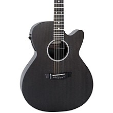 Hybrid Series H-WS1000N2 Deep Body Cutaway Acoustic-Electric Guitar Level 2 Black 190839607065