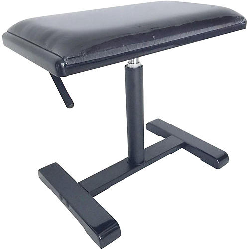 Stagg Hydraulic Piano Bench with Black Velvet Top