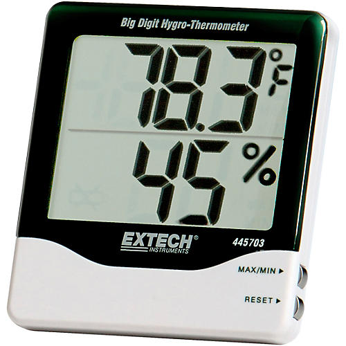 EXTECH Instruments Hygro Thermometer Big Digit