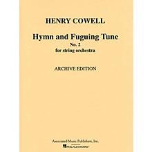 G. Schirmer Hymn & Fuguing Tune No 2 Str Orch  Score Misc Series