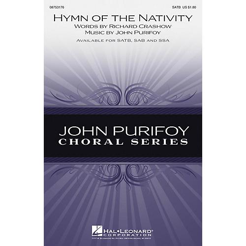 Hal Leonard Hymn of the Nativity SSA