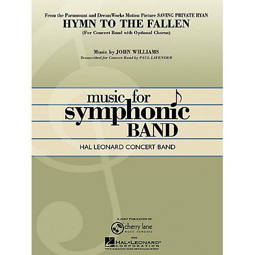 Hal Leonard Hymn to the Fallen (from Saving Private Ryan) Concert Band Level 4-5 Arranged by Paul Lavender
