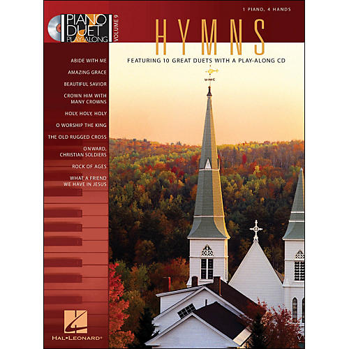 Hal Leonard Hymns - Piano Duet Play-Along Volume 9 (CD/Pkg)