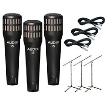 Audix I-5 Mic with Cable and Stand 3 Pack