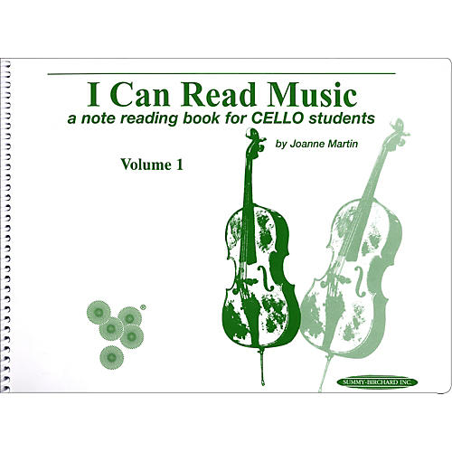 Alfred I Can Read Music for Cello, Volume 1 Book