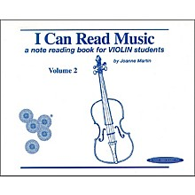 Alfred I Can Read Music for Violin, Volume 2 Book