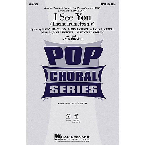 Hal Leonard I See You SSA by Leona Lewis Arranged by Mark Brymer