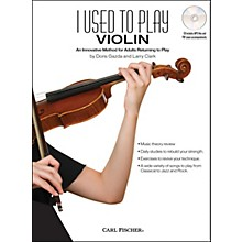 Carl Fischer I Used To Play Violin Book/CD