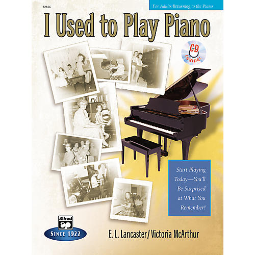 Alfred I Used to Play Piano (Book/CD)