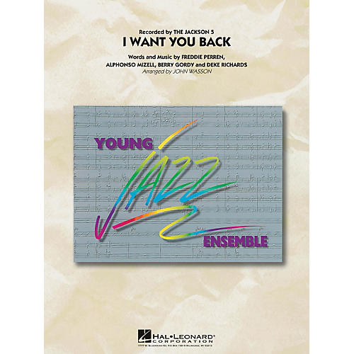 Hal Leonard I Want You Back - Young Jazz Ensemble Series Level 3