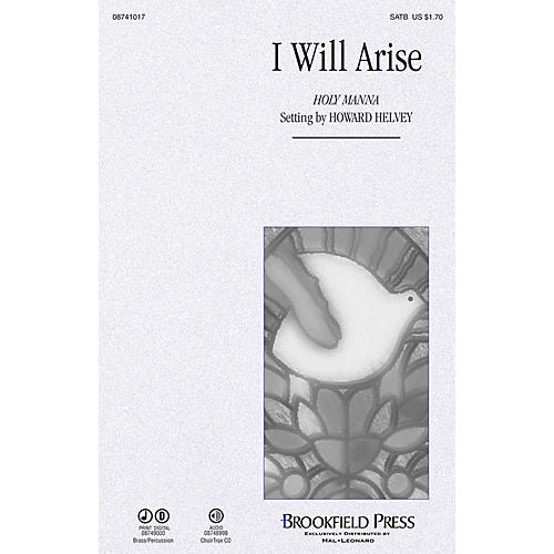 Brookfield I Will Arise! SATB arranged by Howard Helvey