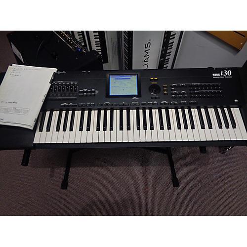 used korg i30 keyboard workstation guitar center. Black Bedroom Furniture Sets. Home Design Ideas