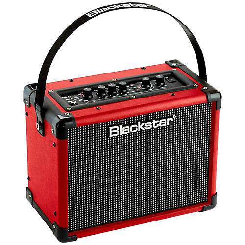 blackstar id core 10w 2x5 limited edition stereo guitar combo amp red red guitar center. Black Bedroom Furniture Sets. Home Design Ideas