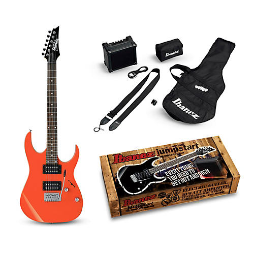 ibanez ijrg220z electric guitar package orange guitar center. Black Bedroom Furniture Sets. Home Design Ideas