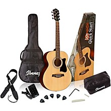 Ibanez IJVC50 Jampack Grand Concert Acoustic Guitar Pack