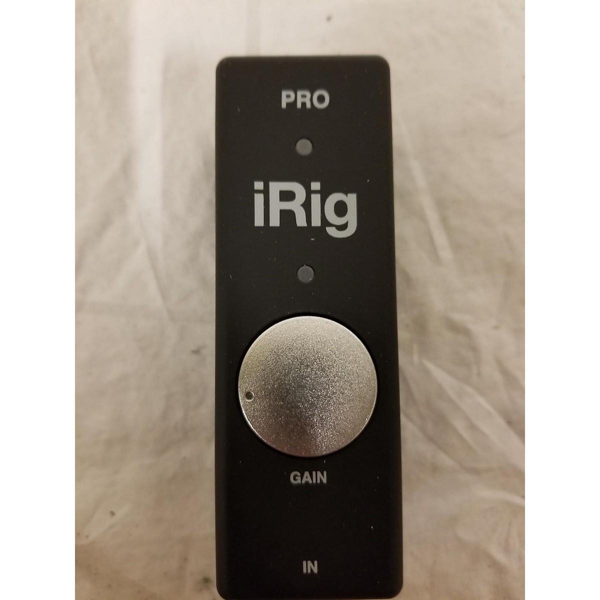 Ik Multimedia Irig Pro: Used IK Multimedia IRig Pro Audio Interface